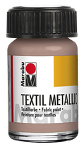 Textilfarbe Metallic-Rosé-Gold 734