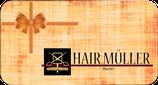 HAIR MÜLLER Gutschein Men's Cut  -  Wählen zwischen 2, 5 oder 10 Herrenhaarschnitte inkl. Styling