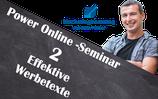 Power-Online-Seminar 2 - Effektive Werbetexte verfassen
