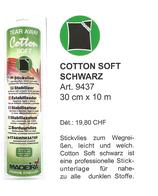 Cotton Soft Schwarz