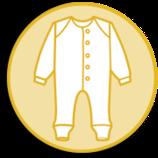 Schlafanzug ohne Fuss Cosilana Pflaume Nr. 23