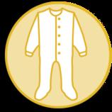 Schlafanzug mit Fuss  rot  45095