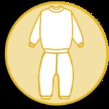 Schlafanzug  Zwei-Teilig pflaume 45291