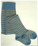 Kinderstrumpfhosen Ringel 74061 blau-grau