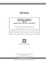 Rapporto di efficienza energetica gruppi termici biomassa (Lombardia)