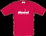Kinder T-Shirt sorbet  SKYLINE STADTKIND NEU
