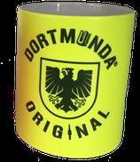 Tasse NEONGELB Dortmunda-Original-Stadtwappen