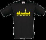 Kinder T-Shirt schwarz Skyline-Stadtkind NEU