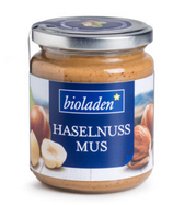 Haselnussmus fair