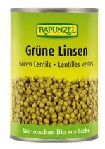 Grüne Linsen, 400 g