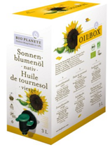 Sonnenblumenöl nativ 3 l Box