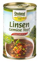 Linsen-Gemüse Topf