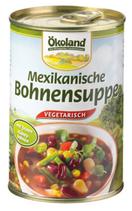 Mexikanische Bohnensuppe