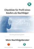 Checkliste Profil Käufer als Nachfolger