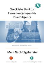 Checkliste für optimale Systematik von Firmenunterlagen für eine Due Diligence