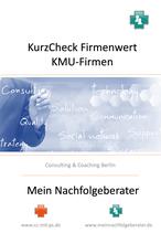 KurzCheck Wertermittlung KMU-Firmen