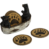 Bear Series - Bear in Boat Coaster Set (4)