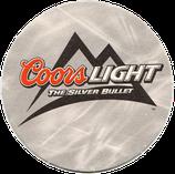 Coors Light Bierdeckel - The Silver Bullet