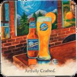 Blue Moon Coasters - Bierdeckel
