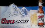 Coors Light Werbetafel - Einzelstück