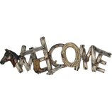 Western Horse - Welcome Sign