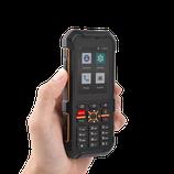 Téléphone RUGGEAR RG170 ANDROID GO + Application PTI pour la Protection du Travailleur Isolé