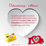 """Gutschein & Bilderrahmen """"VALENTINSTAG"""""""
