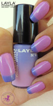 Layla Thermo Polis Effect 6 violet to lilac
