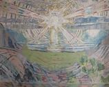 ムンク「太陽」作品のみ ※和紙に印刷