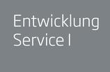 Entwicklung Service I