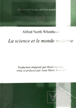 Whitehead Alfred North, La science et le monde moderne