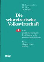Kleinewefers, Die schweizerische Volkswirtschaft