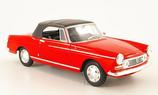 Art.Nr. 16.480 Peugeot 404 Cabriolet rot geschlossenes Verdeck