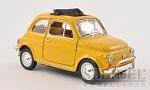 Art.Nr. 16.478 Fiat 500 L dunkelgelb geöffnetes Faltdach