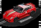 """27400 Carrera Evolution 20027400 - Ferrari 599XX Ferrari Racing Days """"No.4"""" - NEU OVP"""