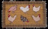 Türmatte Hühner
