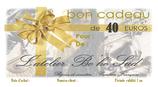 Bon Cadeau de 40 euros par courrier