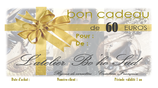 Bon cadeau de 60 euros par mail