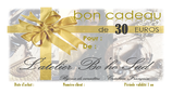 Bon Cadeau de 30 euros par courrier