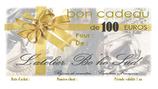 Bon cadeau de 100 euros par courrier