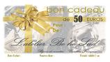 Bon cadeau de 50 euros par courrier