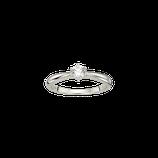 Verlobungsring Silber mit Zirkonia