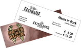 Ticket | Mates in Rock, 28.01.17 Fritzlar