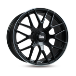 MAM GT.1 MATT BLACK LIP POLISHED  | 18  - 21 ZOLL | AB 135,00 EURO PRO STÜCK |