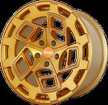 4 STÜCK Radi8 CM9 ALUFELGEN BRUSHED GOLD | 18-19 ZOLL | AB 1.040,00 EURO PRO FELGENSATZ
