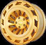 4 STÜCK Radi8 R8T12 ALUFELGEN BRUSHED GOLD LIMITED EDITION | 19 ZOLL | 1.060,00 EURO PRO SATZ
