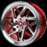 BJ-WHEELS V3 RACE FLOWFORMING FELGEN | FARBE RED POLISHED | 19 ZOLL | AB 399,00 EURO PRO STÜCK