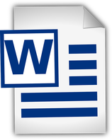 Microsoft Word | Sept. 2015