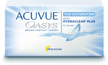 Acuvue Oasys for astigmatism with HydraclearPlus 6er Box