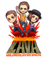 LAVA Logo Poster